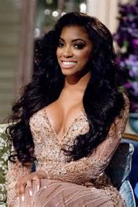 weaving hair by porcha rhoa spotted porsha d williams in ralph russo couture
