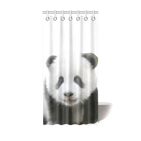 panda bear shower curtain panda bear shower curtain 36 quot x72 quot id d396075
