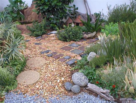 backyard pebbles garden decorating ideas with pebbles always in trend