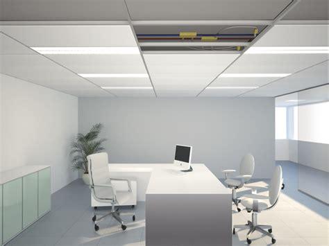 controsoffitto a quadrotti pannelli per controsoffitto radiante in acciaio b klimax