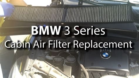 Bmw Cabin Air Filter by Bmw Cabin Air Filter Replacement Diy Are You Breathing