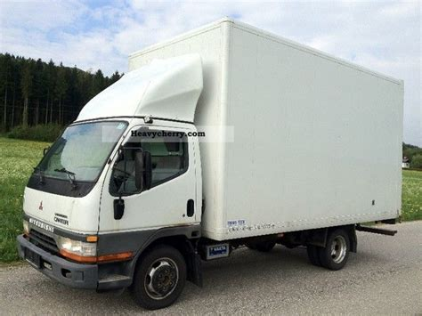 Box 35s mitsubishi canter 35s turbo 51 000 kilometers bj 1999