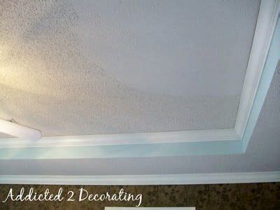 removing popcorn ceiling house remodel pinterest