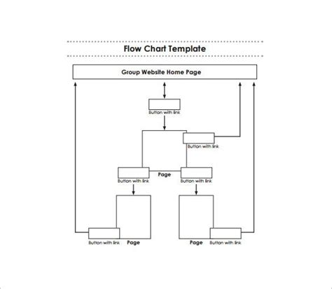 30 Flowchart Templates Free Word Excel Ppt Formats Free Blank Flow Chart Template For Word