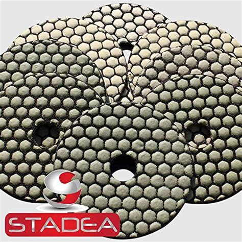 Sale Paku Beton Sherlock 4 Inch concrete polishing pads 4 inch discs set for marble granite by stadea