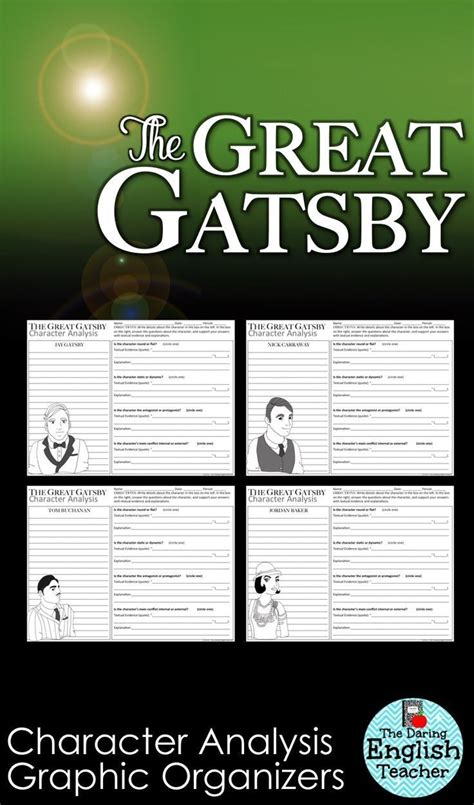 themes in the great gatsby explained 32 best teaching the great gatsby images on pinterest