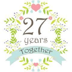 Anniversary 27 Years Together Women's Shirts   Still In