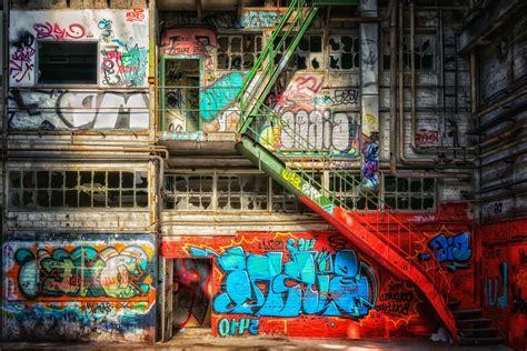 picture graffiti city urban street stairs