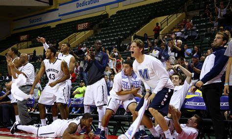 bench celebration 8 of monmouth basketball s brilliant bench celebrations
