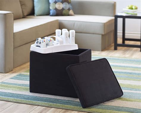 gaming storage ottoman costco slam brands introduces all in one storage solutions for
