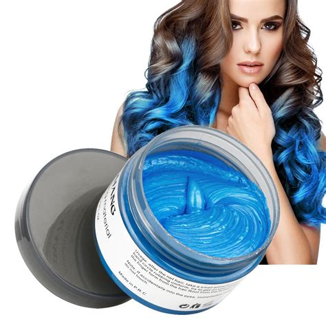 temporary blue hair color professional temporary instant hair color dye