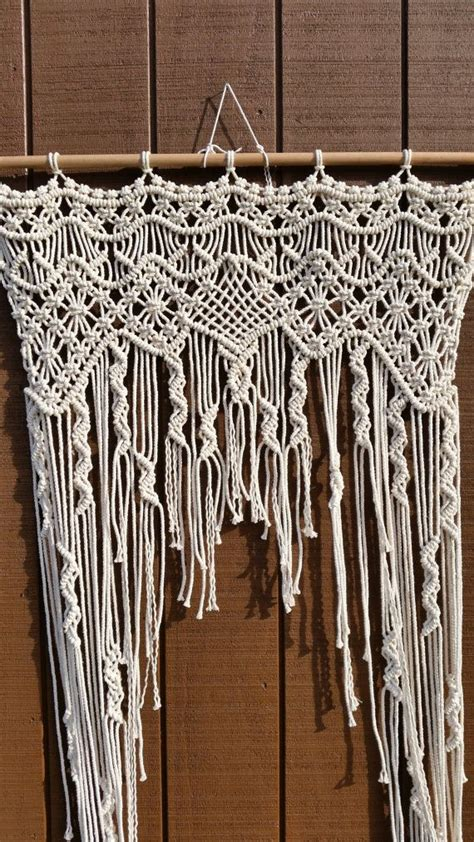 Hemp Curtain Panels From Doc by 1790 Best Images About Macrame On
