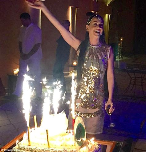 Katy Perry Wears Embellished Dress As Shes Joined By Ellie