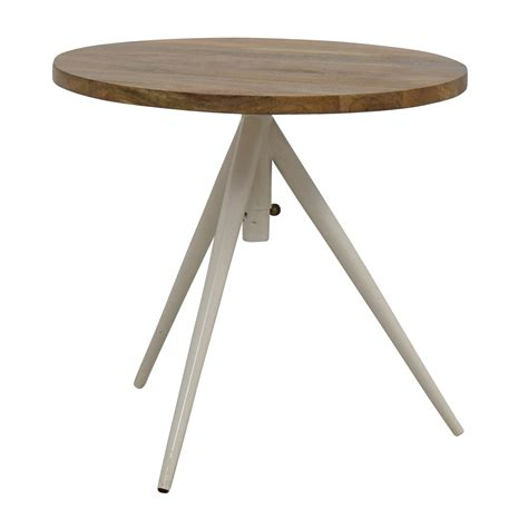 west elm round 39 off west elm west elm round adjustable bistro