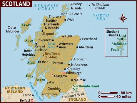 Search In Scotland Map Of Scotland