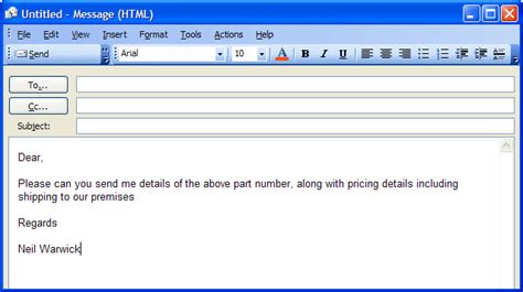 email format template how to create an email template for microsoft outlook