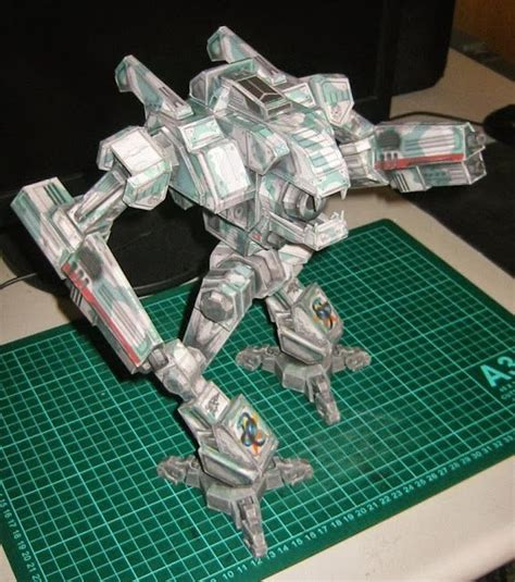 Mechwarrior Papercraft - 19 best images about papercraft on howl s