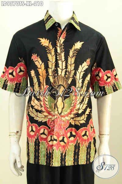 Hem Batik Bagus hem batik bagus mewah lengan pendek kemeja batik trendy