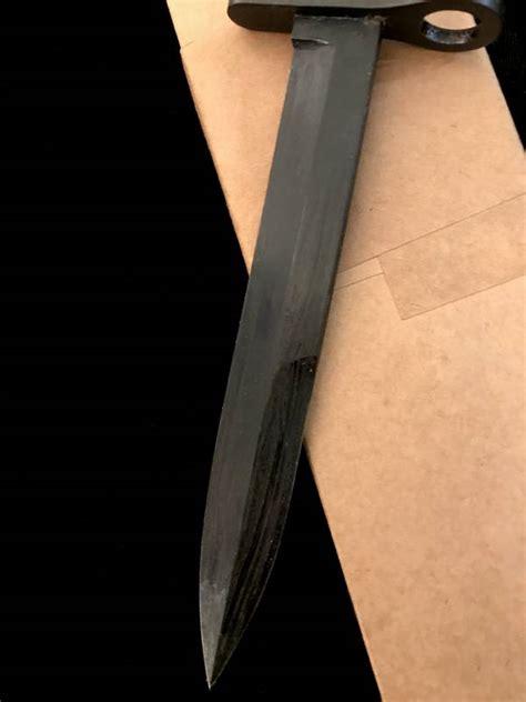 camillus bayonet ww2 camillus m4 bayonet unissued w box mint us ww