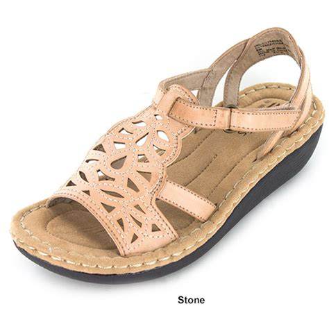 cliffs sandals cliffs by white mountain chambray comfort sandals boscov s