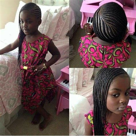 lil braids with i think i might try this next kiddie hairstyles