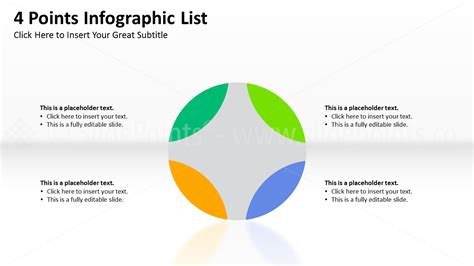 Infographic Lists Powerpoint Slidepoints Editable Infographic Templates