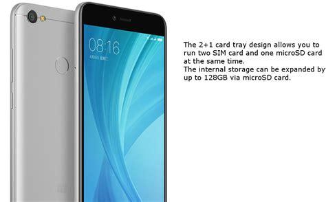 Xiaomi Note 5a Ram 4 Gb xiaomi redmi note 5a prime 5 5 inch 4gb ram 64gb rom