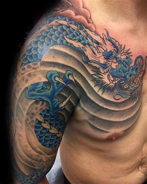 tattoo ideas shoulder and arm 40 dragon shoulder tattoo designs for men manly ink ideas