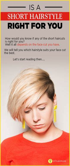 find out what haircut suits you 1000 images about chic short hairstyles on pinterest
