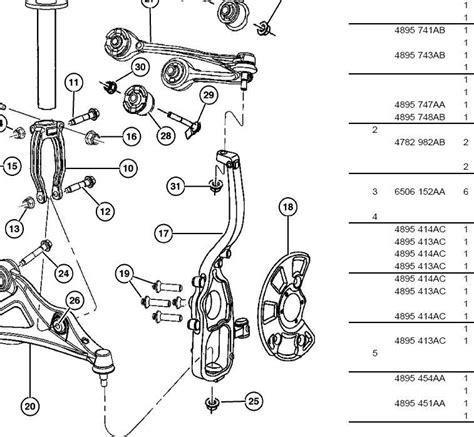 diagram exle problems 2005 chrysler 300c front suspension diagram imageresizertool