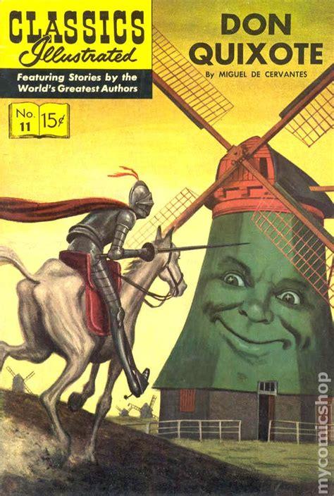 don quixote classics illustrated 011 don quixote 1943 comic books