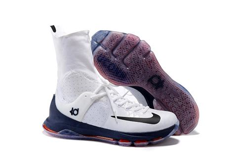 8 mens basketball shoes nike kd 8 elite sneakers quot uconn quot white blue
