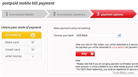 pay airtel postpaid mobile bill how to pay airtel postpaid bills