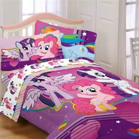 pony fied girl full double comforter sheet set