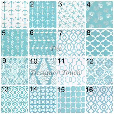 Aqua Blue Window Valance Aqua Blue Valance Light Blue Damask Window Treatment