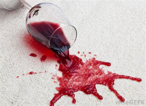Wine Spill On by What Are The Best Stain Removal Tips With Pictures