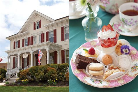 teaberry tea room tea in the garden state teatime magazine
