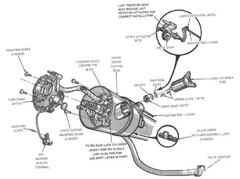 70 mustang steering column wiring diagram get free image