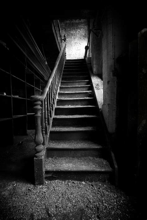 film noir ghost foot of our stairs exploration of an abandoned tool