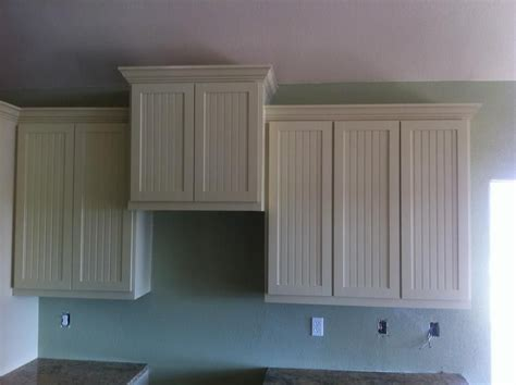 adding toppers to kitchen cabinets beadboard kitchen cabinets add beadboard to stock