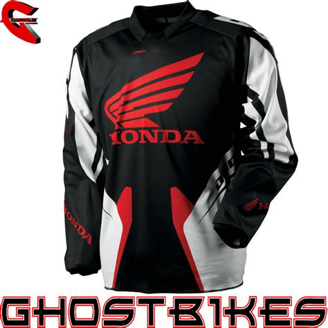 honda motocross jersey one industries 2013 carbon honda mx shirt moto x top