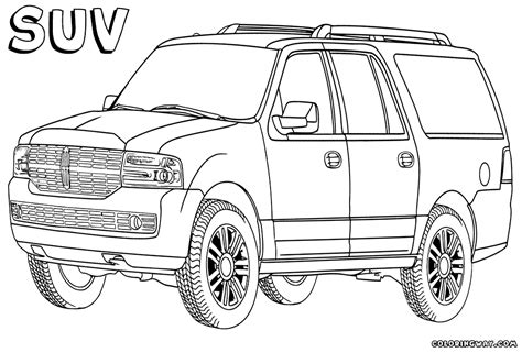 Suv Coloring Pages suv coloring pages coloring pages to and print