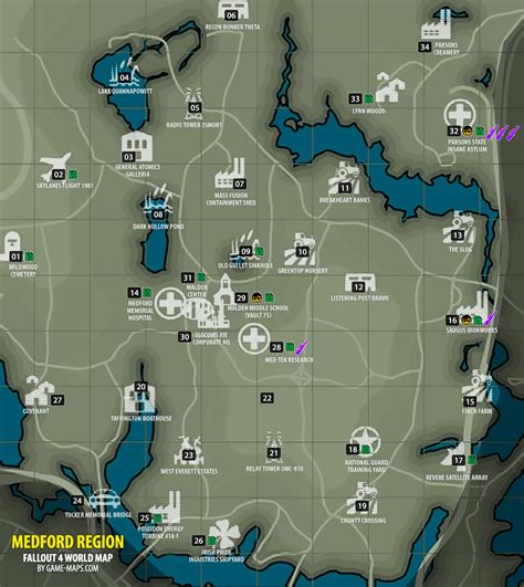 fallout 4 bobblehead map medford region map fallout 4