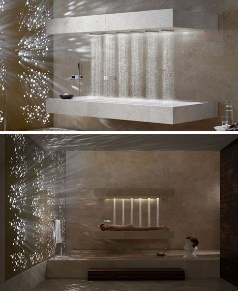 Nicest Showers In The World by Sleek Horizontal Shower Bathing In The Best Of Both Worlds