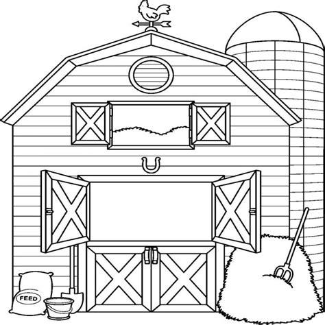 imagenes de animales de granja para colorear dibujos para colorear de una granja de animales colorear