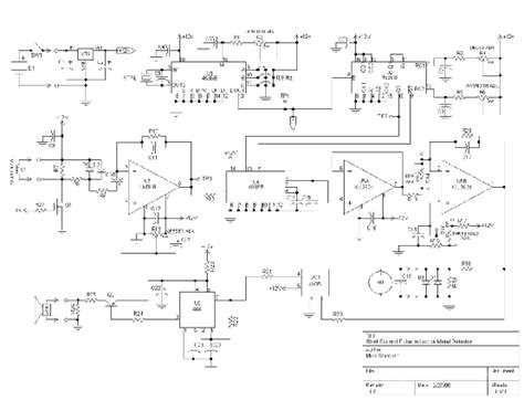 pulse induction schematic vlf metal detector schematic get free image about wiring diagram