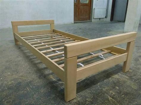 Nice Simple Bed Frame Design #1: Wooden-single-bed-simple-design.jpg