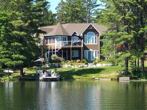 beautiful waterfront home or otter lake cottage for sale