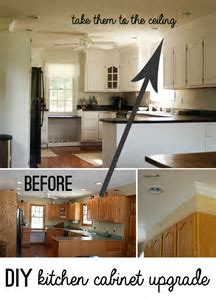 kitchen makeovers on Pinterest   Cabinets, Islands and Countertops