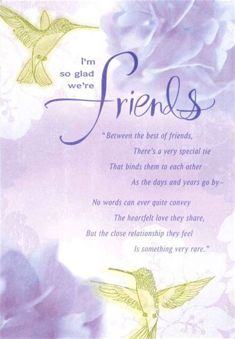 Hydrangeas and Happiness Friendship Birthday Card